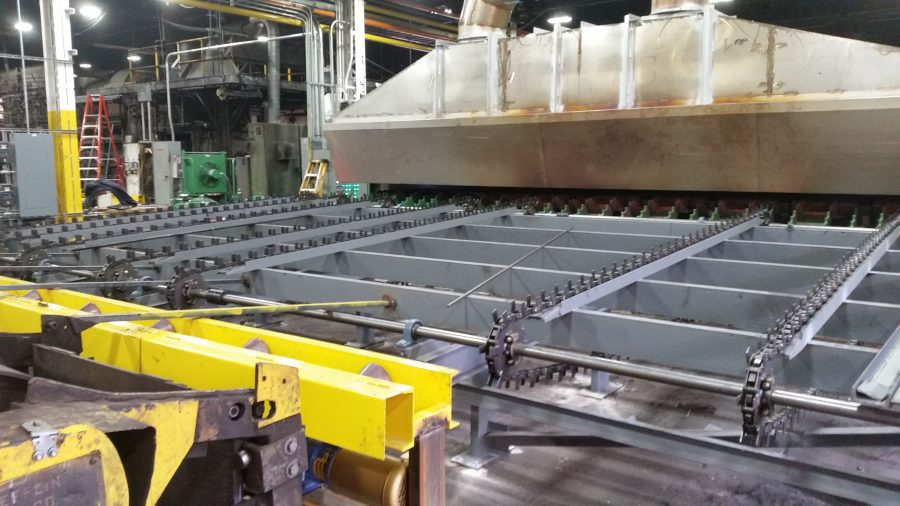 Conveyor Fabrication and Install 1 - Copy