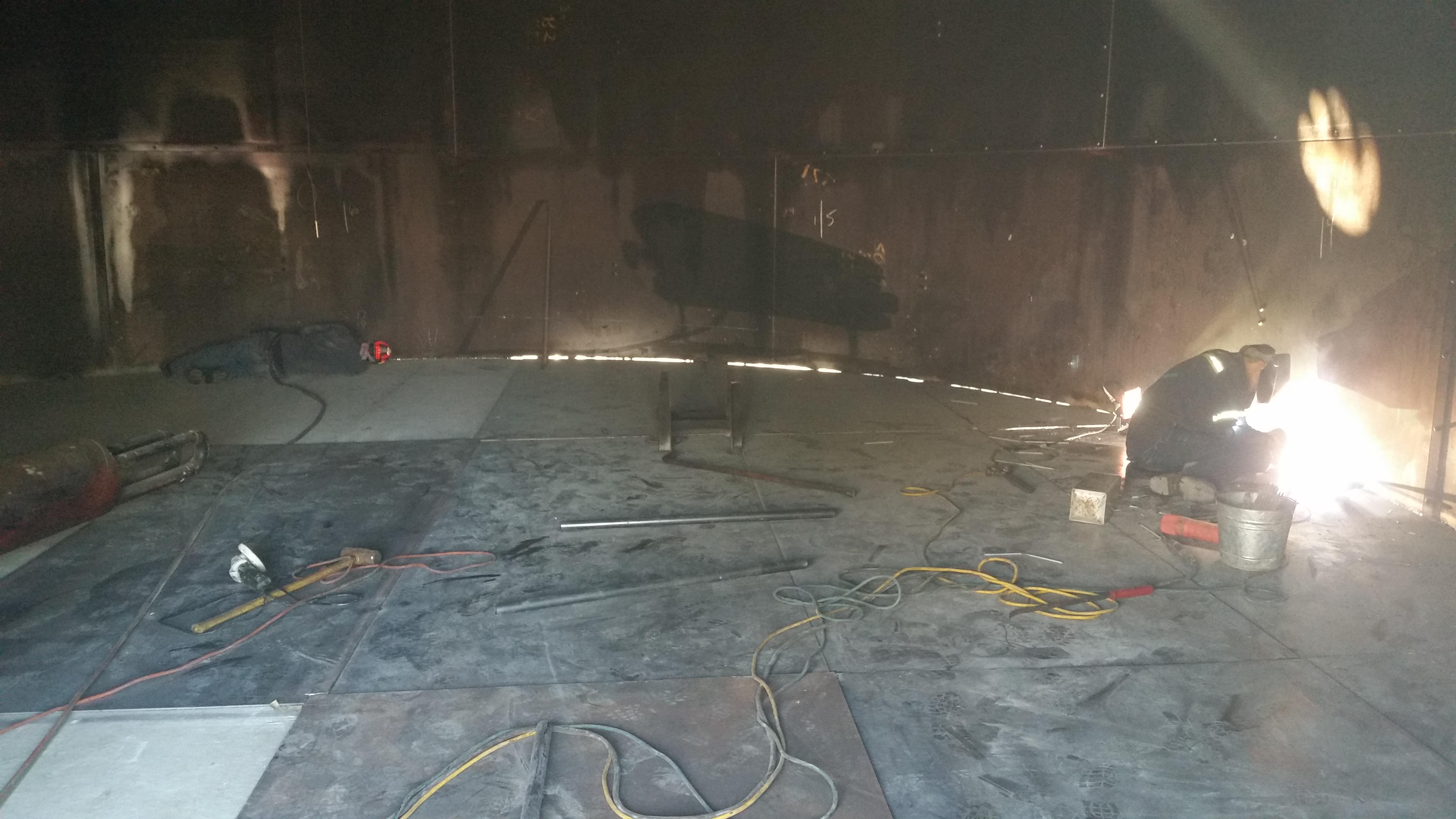 Tank Repair U Floor Replacemet Tank Repair And Floor Replacement With Floor  Replacement.